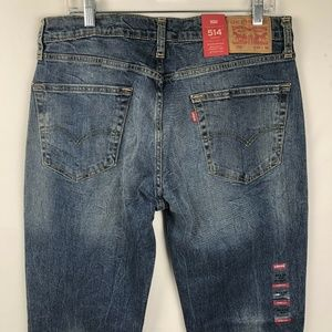 Levi's 514 Men's Jeans Size 34×32 Straight Leg NEW